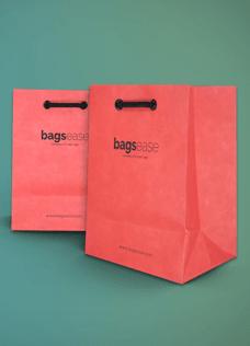 Colored Kraft Paper Bags