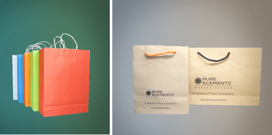 Eco Friendly and Creative Paper Bags